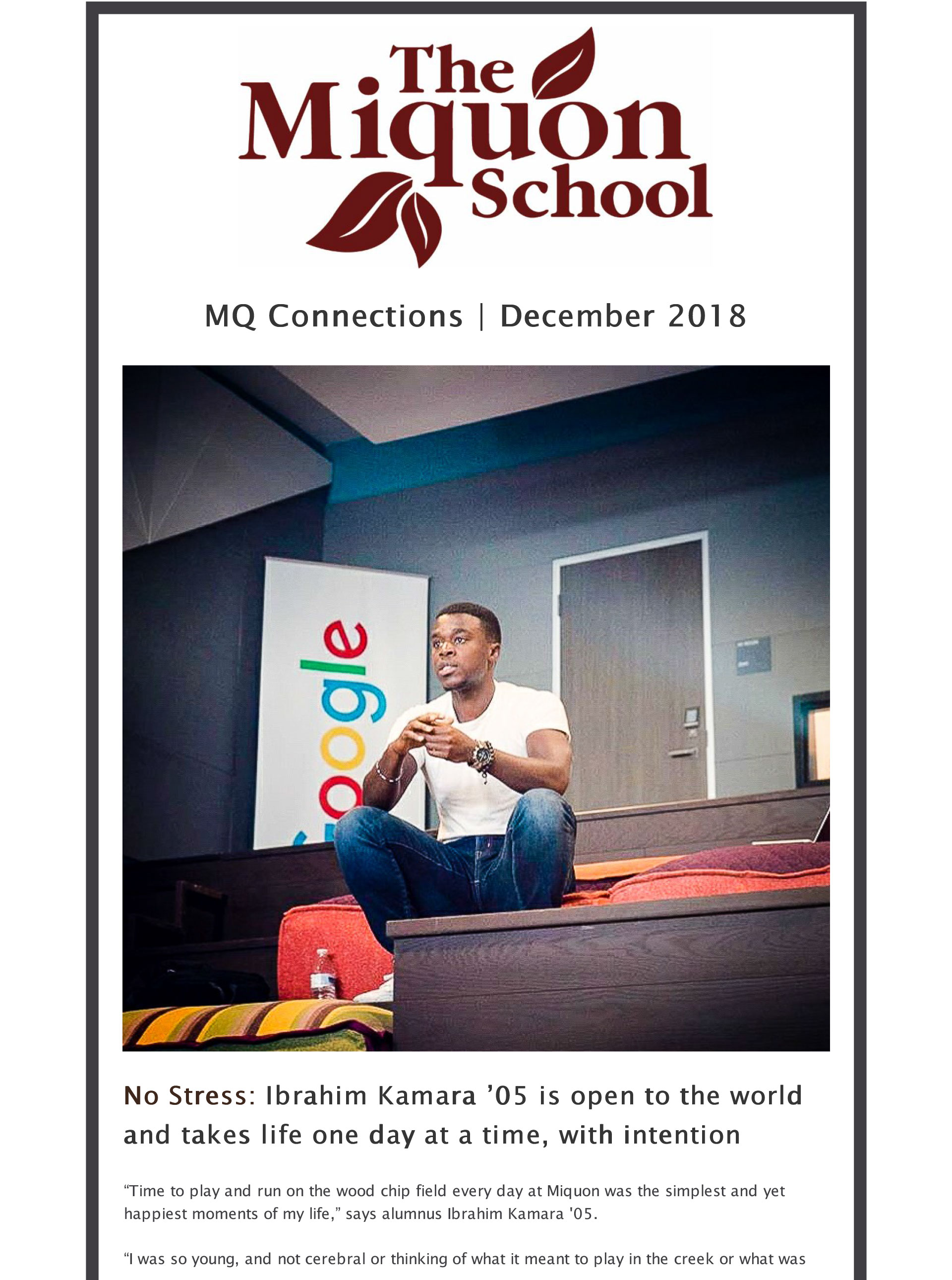 MQ Connections – December 2018