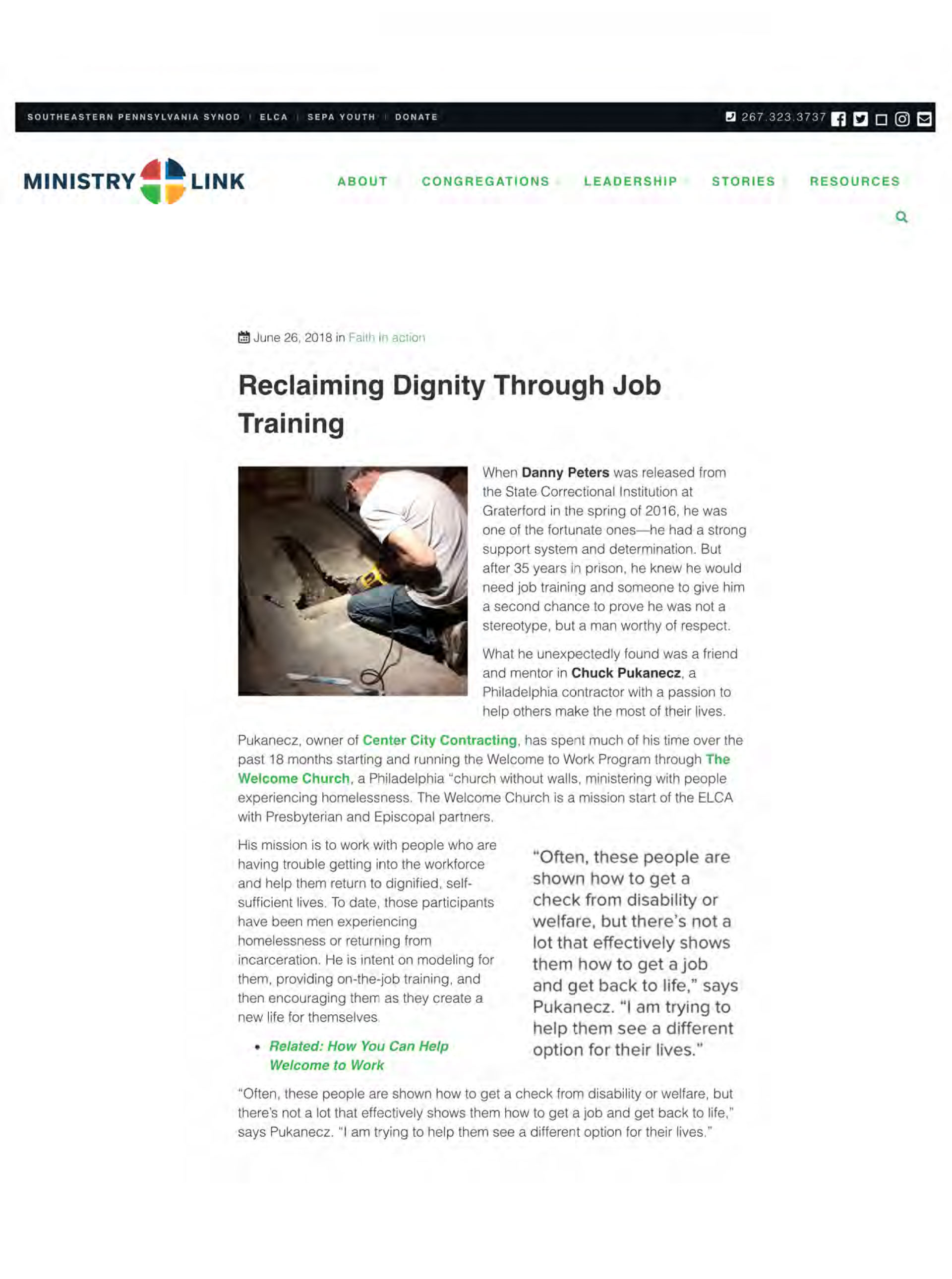 Reclaiming Dignity